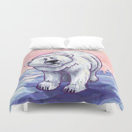 Animal Parade Polar Bear Duvet Cover