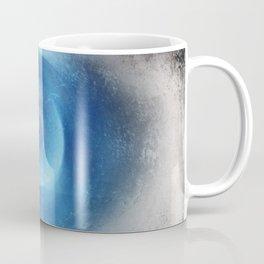 Blue Eye Abstract Coffee Mug