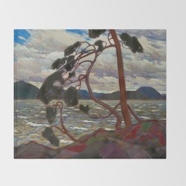 Tom Thomson - The West Wind Throw Blanket