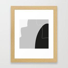 Lines 02 Framed Art Print