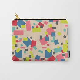 Colorful Party Confetti Surface Pattern Design Carry-All Pouch