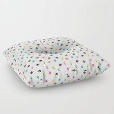 Circles with Handles Floor Pillow