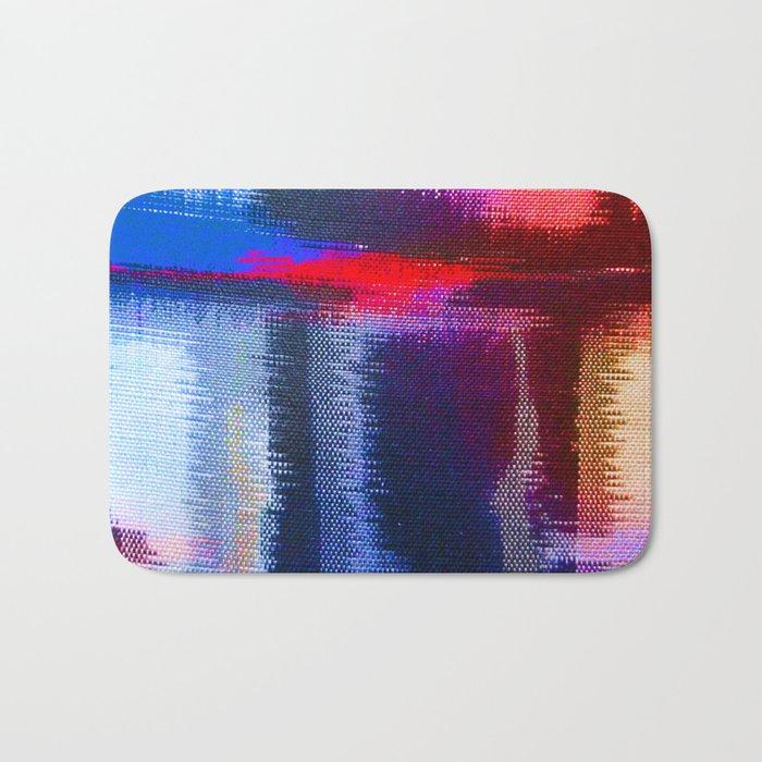 Splat Fabric Bath Mat