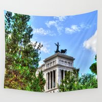 rome Wall Tapestries featuring Rome. by haroulita