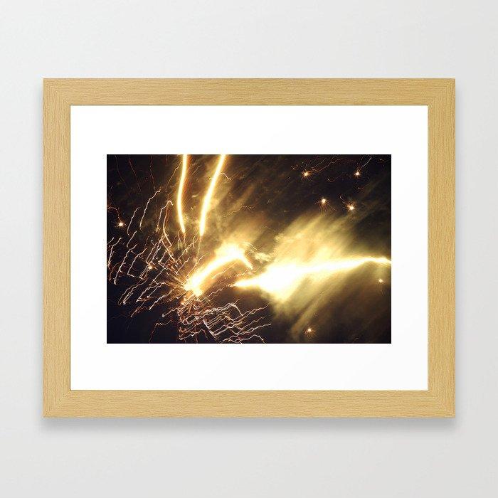 Firework- 2 Framed Art Print