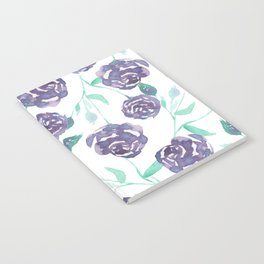 Purple Rose Bush Notebook