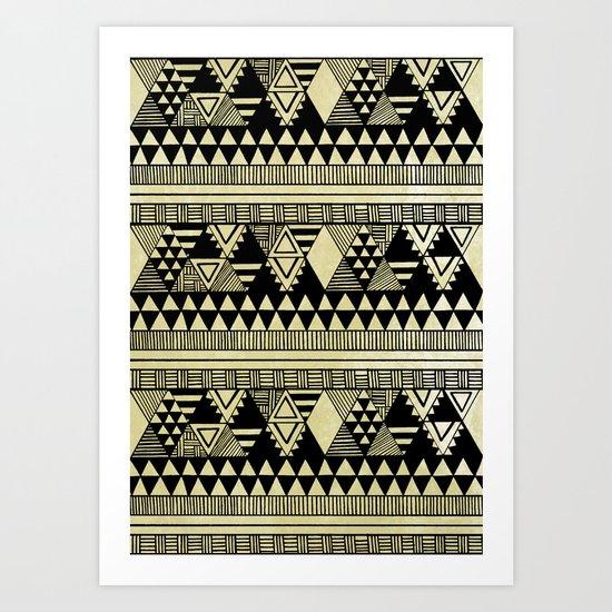 Ethnic Chic Art Print