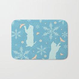 festive flurry Bath Mat