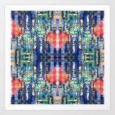 Mixed Signals Art Print
