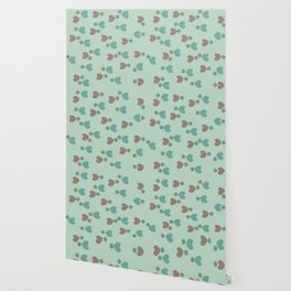 Blossoming Green Wallpaper