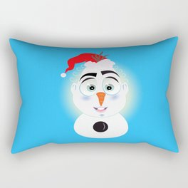 Lolo AlfsToys wants to become in Olaf Rectangular Pillow