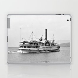 Ticonderoga Side Wheeler Steamboat Laptop & iPad Skin