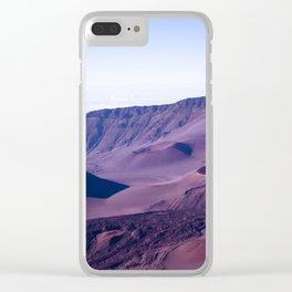 Haleakalā Sunrise On The Summit Maui Hawaii Kalahaku Clear iPhone Case