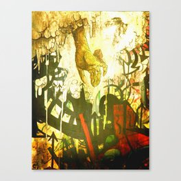 """Time to Go"" Graffiti Trip Canvas Print"