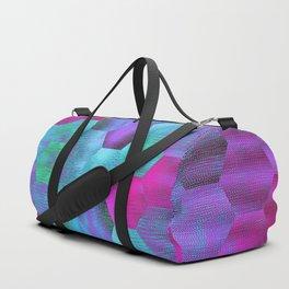 Coloured Hexagons Duffle Bag