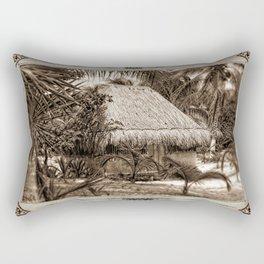 Vintage Hut Rectangular Pillow