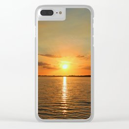 A Moody River Clear iPhone Case
