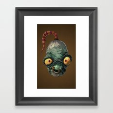 Triangles Video Games Heroes - Abe Framed Art Print