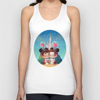 glee Tank Tops featuring Sweet Day by Sunshunes