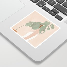 Lost in Leaves Sticker