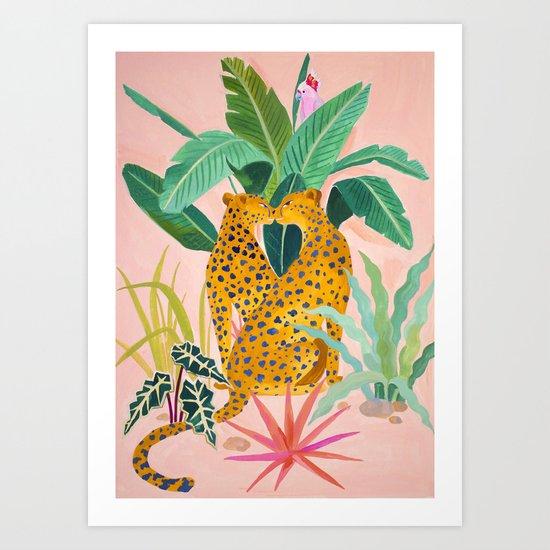 Cheetah Crush by sunlee_art