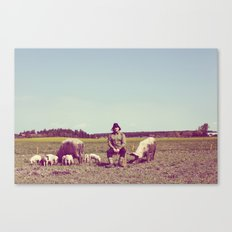 J Crist - Everything Stays Here and Now Canvas Print