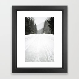 Out of reception Framed Art Print