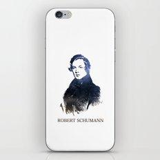 Robert Schumann iPhone & iPod Skin