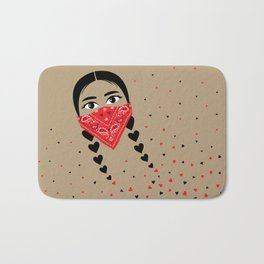Love & Revolution Bath Mat