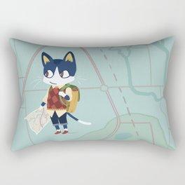 Rover Roves Rectangular Pillow