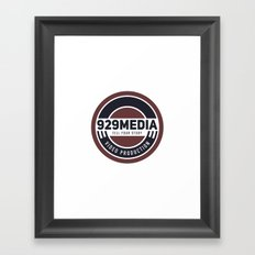 929 Media Framed Art Print