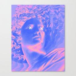 Coy Canvas Print