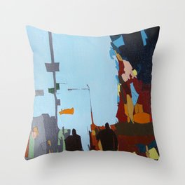 Look Up to the Sky Throw Pillow
