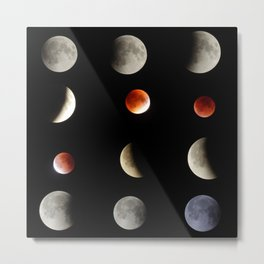 Super Moon eclipse photo collection (5-4) Metal Print