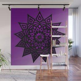 Purple Star | Tam Tam | Mandhala Wall Mural