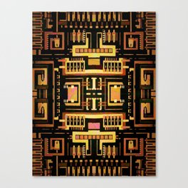 Circuit board v5 Canvas Print