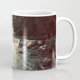 Rocky River Waterfall Englischer Garten Germany Color Photo Isar River Coffee Mug