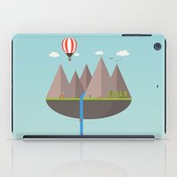 playstation iPad Cases featuring Flat island  by eARTh