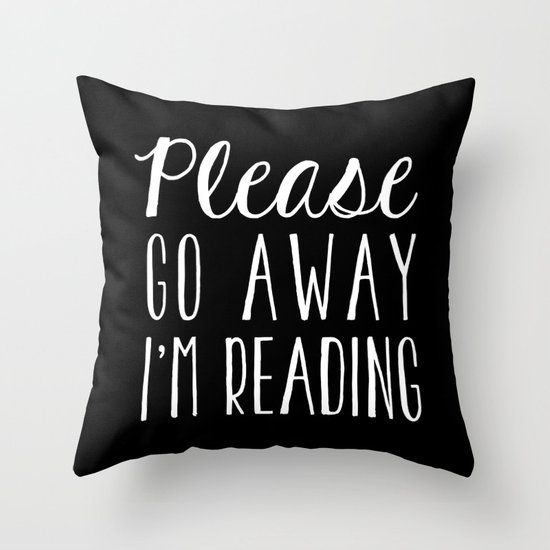 Please Go Away, I'm Reading (Polite Version) - Inverted by bookwormboutique