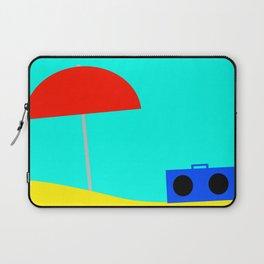 basic beach Laptop Sleeve