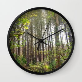 Woods Nature Wall Clock