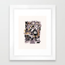 gotama Framed Art Print