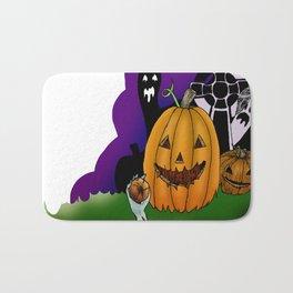 Pumpkin Bath Mat