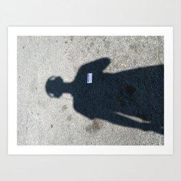 untitled self-portrait Art Print