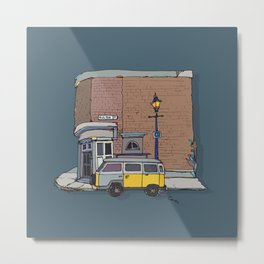 brickhouse Metal Print