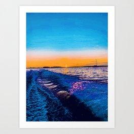 mírame  Art Print