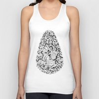 monster inc Tank Tops featuring Egg inc by Infra_milk