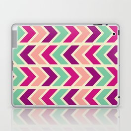 zig zag (purple) Laptop & iPad Skin