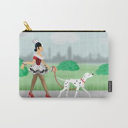 Walkin' the Dog Carry-All Pouch