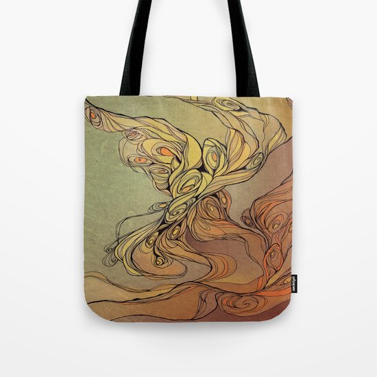 abstract floral composition 2 Tote Bag